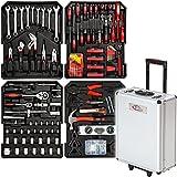 TecTake® 251 teiliger Werkzeugkoffer mit Werkzeug bestückt