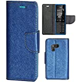 Zaoma Diary Type Flip Cover for Nokia 216 - Blue