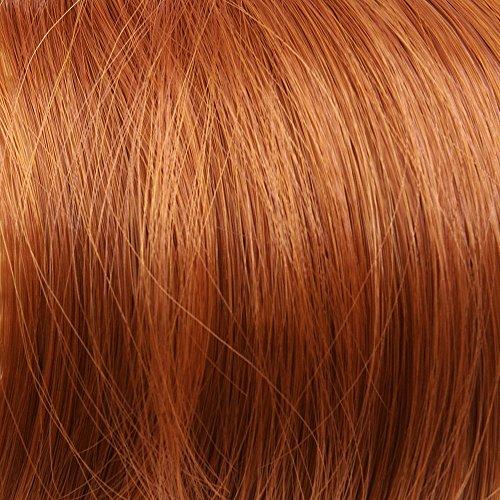 Prettyland - DH254 60cm Klammer gewellt Pferdeschwanz Zopf Haarverlängerung Haarteil- R01