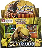 #9: Sanyal Pokemon Go Sun & Moon Series Trading Card Game with Metal Box for Kids Board Game