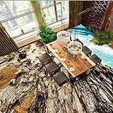 Wapel 3D Stereo Bodenbelag Watercolor Style Seaside Reefs Custom Wohnzimmer Schlafzimmer Lobby Tapete Wandbild