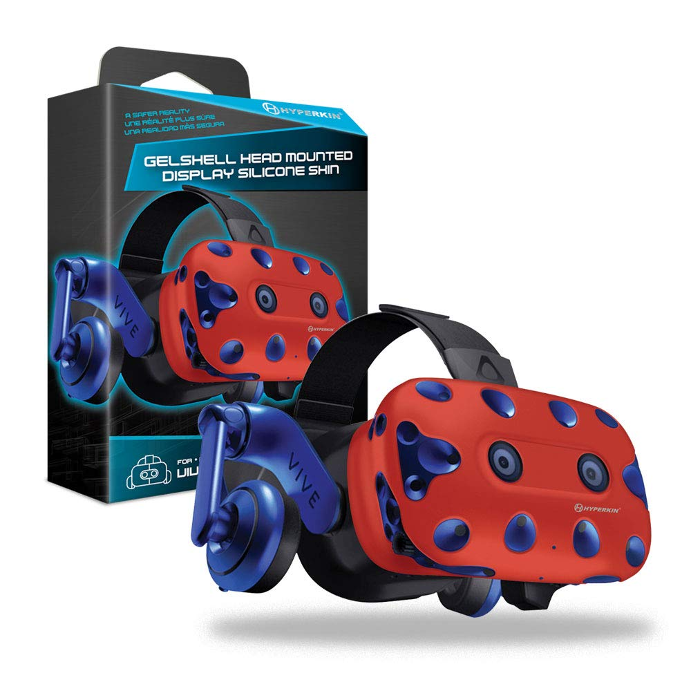 Housse Silicone Gelshell – Casque VR – rouge (HTC Vive Pro)
