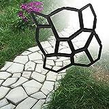 FURU Walk Maker Backform Pathmate Stein Form Pflastersteine Pflaster Road Maker Beton Form Manuelle Pflastersteine Zement 9Raster