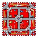"'KNORRTOYS 21015–Tapis puzzle–""Cars –"" Modular Race 9Tapis (17pièces)"