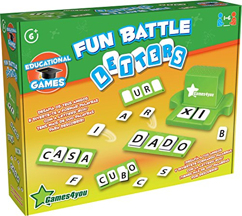 Science4you-Fun Battle Letters