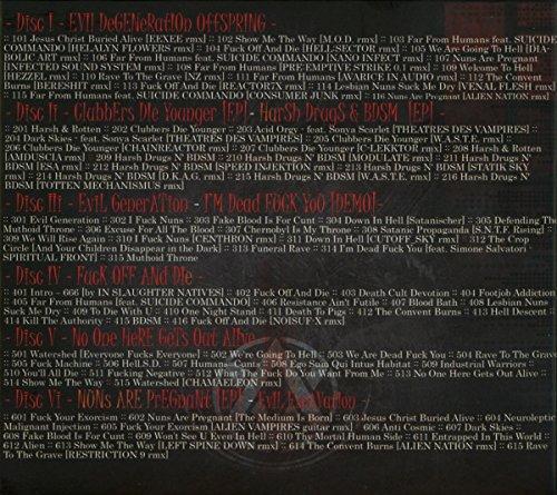 Zoom IMG-1 evil lasts forever 6 cd
