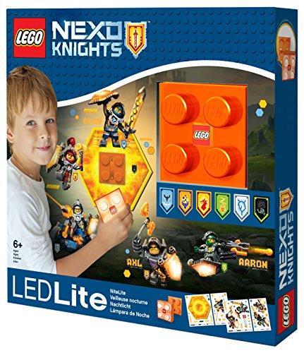 LEGO Lights IQLGL-NI7 Nexo Ritter Wandleuchte mit Shild Power Code