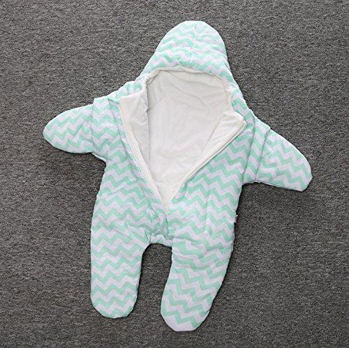 Fengh Baumwolle, Modelle für Babys, Die kleine Seestern Thicker Winter Warm, Leicht Schlafsack