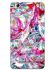 myPhoneMate Colorful Pastel Designer Printed Hard Matte Mobile Case Back Cover for Xiaomi Mi 4i