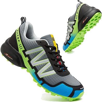 Scarpe Trail Running Uomo Impermeabile Scarpe Trekking Uomo Corsa Scarpe da Ginnastica Leggero Tennis Sportiva Outdoor Fitness Running Sneakers
