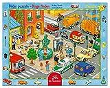 Rahmenpuzzle In der Stadt (24 Teile)