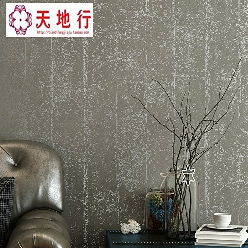 Designer Boutiquen (CNMDGBWY Pixel Farbe Grau Vlies Tapeten Designer Boutiquen Antike Schlafzimmer Wänden Der Farbe Hintergrund Papier, Ein,0.53M×9.5M,Wandmalerei)