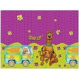 Plastic Scooby Doo Tablecloth , 1.8m x 1.2m