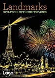 Landmarks: Scratch-Off Night Scapes