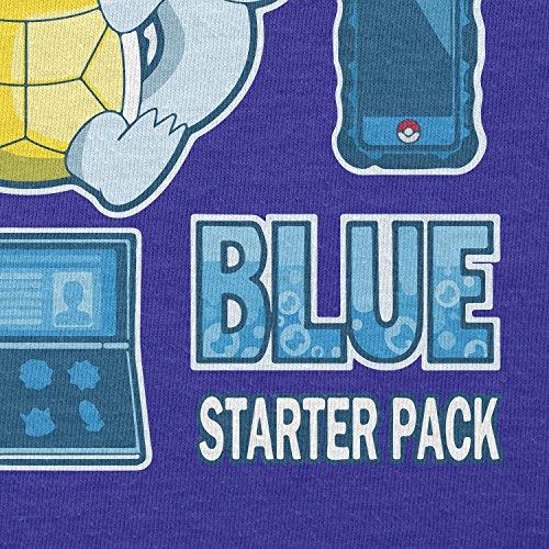 TEXLAB - Blue Poke Pack - Damen Kapuzenpullover Marine