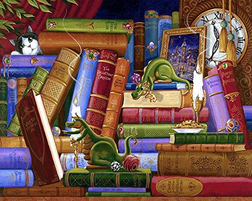 Les Biscuits et Les Livres Classiques Jigsaw Puzzle 1000 Pieces