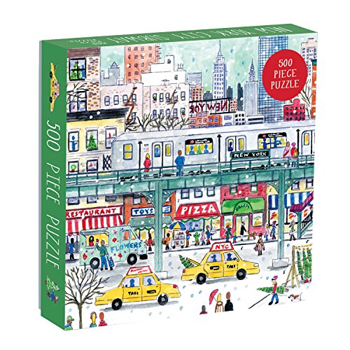New York City Subway: 500 Piece Puzzle (Puzzles)