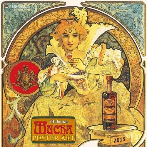 Alphonse Mucha Poster Art 2015 (Fine Arts)