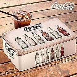 Caja Vintage Metálica Coca-Cola