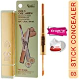 Glam21 Gold Collagen Dual Concealer Pen-CL1015A-03 With Skin Whitening Cream20ml