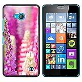 OB-star ( Flower Of Hyacinth Dolichos ) NOKIA Lumia 640 Colorful Peau Imprimé Protection Dur Retour Housse Shell