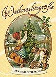 Weihnachtsgrüße: 12 nostalgische Weihnachtskarten