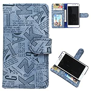 DooDa PU Leather Wallet Flip Case Cover With Card & ID Slots Redmi 1S