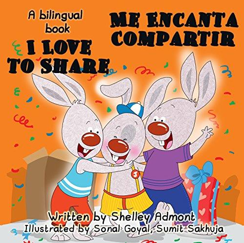 Descargar libros electrónicos gratis para Android I Love  to Share-Me Encanta Compartir (English Spanish Bilingual Children's books) libros para niños, spanish childrens books, esl children's books (English Spanish Bilingual Collection) PDF ePub MOBI