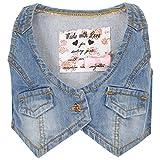 #3: Life By Shopper Stop Girls V Neck Solid Jacket_Multi-Coloured
