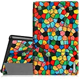Samsung Galaxy Tab 4 7.0 Funda – Fintie Ultra Slim Case Funda Carcasa con Stand Función para Samsung Galaxy Tab 4 7.0 (SM-T230 T231 T235), Mosaico
