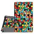 Fintie Fire HD 10 2015 SmartShell Case - Ultra Slim Lightweight Cover for Amazon Fire HD 10 Tablet, Mosaic