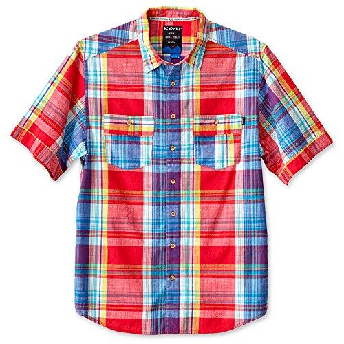 KAVU Herren Rumson Button-Down Shirts, Herren, 5082, Preppy, M -