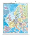 FRANKEN - FRANKEN carte de l'Europe, lamine, 970 x 1.370 mm,...
