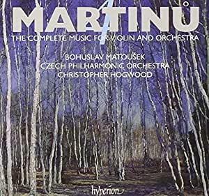 Martinu - The Complete Music for Violin and Orchestra,Vol 4