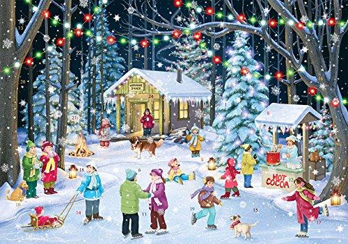 Vermont Christmas Woodland Skaters Adventskalender