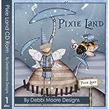Debbi Moore Designs Pixie Land CD Rom (295040)