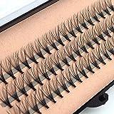 Make-up Augenwimpern Cluster falsche Wimpern für Kosmetiksalon Kosmetikschule Maskenbildner (8mm)