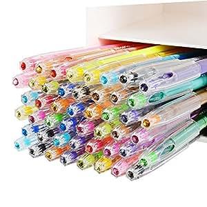 Ohuhu Penne Gel a 48 colori per colorare libri, schizzi, disegni, pittura e scrittura
