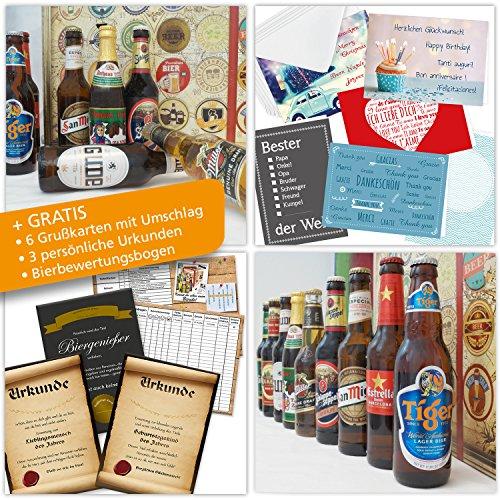Alles Gute | 24 Biere | Bier Box | mit Bieren aus D und Welt