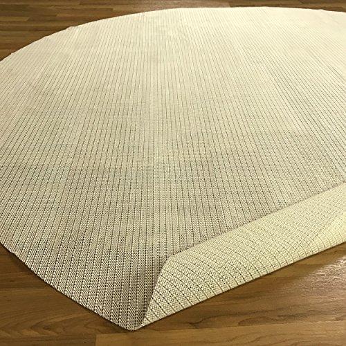Pad Sahne (Blue Nile Mills Ultra Grip Anti-Rutsch-Teppich-Pad 6 Runde Sahne)