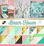 American Crafts Beach House Premium Bedruckt Karton Stack