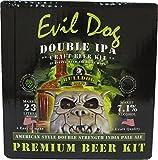 Bulldog Home Brew Beer Refill Ingredient Kit Evil Dog American Double IPA