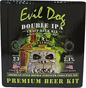 Bulldog Kit Brasserie à Domicile Evil Dog American Double IPA