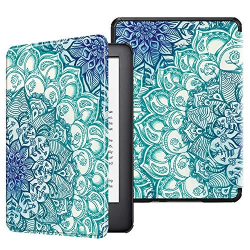 Fintie Hülle kompatibel für Kindle (10. Generation 2019 Modell) - Die dünnste und leichteste Schutzhülle Tasche mit Auto Sleep/Wake Funktion, smaragdblau (Kindle-hülle)
