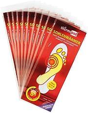 Thermopad Sohlen-Wärmer | kuschlig warme Fußwärmer | sofort einsatzbereit | 8 Stunden lang 37°C | einfache Anwendung wohltuender Wärme-Sohlen | selbstklebend | 10 Paar