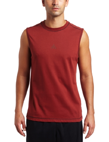 prAna Men 's Neo Sleeveless Tee Korallenrot