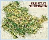 Ferienkarte Thüringen: Plano. -