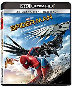 Spider-Man: Homecoming (Blu-Ray 4K Ultra HD + Blu-Ray)