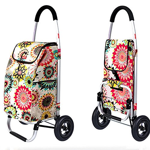 Aluminum Alloy Frame Shopping Cart Trolley Dolly Multifunction, used for sale  Delivered anywhere in UK