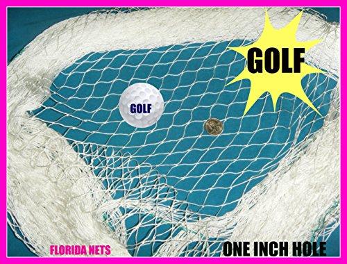 Golf Net Lacrosse, Käfig, Hockey und Sport Netz, Angeln Netze wählen Sie Ihre Länge., weiß